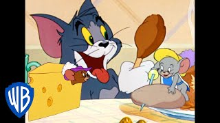 Tom & Jerry   Food Fight!   Classic Cartoon Compilation   WB Kids