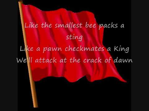 Billy Talent - Red Flag [Lyrics]