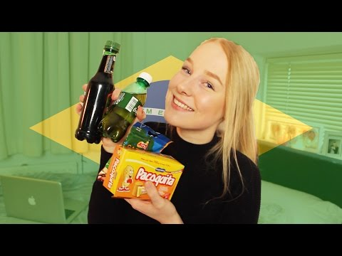 TRYING BRAZILIAN SNACKS MAIL TIME