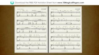 Bol Do Na Zara Piano Staff Notation Sheet | Chords and ABCD Notes | 10 Magical Fingers