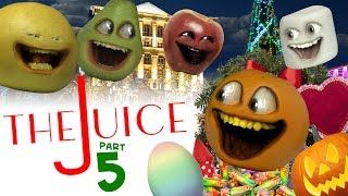 Annoying Orange - The Juice #5: Favorite Holiday?!?!