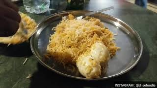Hyderabadi Special Chicken Biryani From Bawarchi