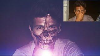 Skull Effect - PicsArt Edits