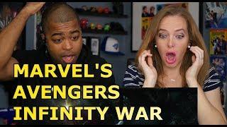 MARVEL'S AVENGERS: INFINITY WAR | Official Trailer (Reaction🔥)