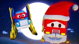 Carl the Super Truck and Santa