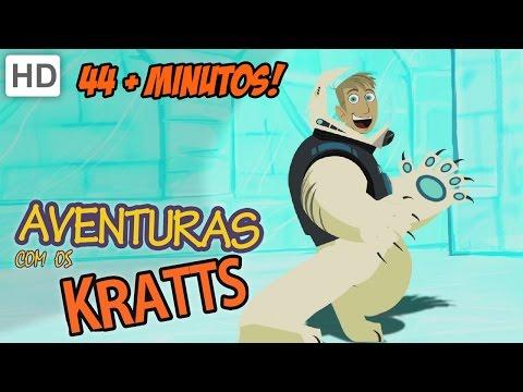Aventuras com os Kratts HD Português Sombra A Onça preta & Insetos Ou Macacos