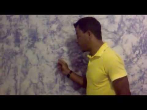 Pintura de parede com efeito