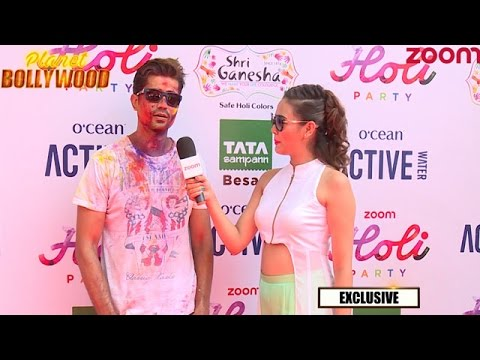 Sumeet Vyas At Zoom Holi Party 2017 | Exclusive Interview