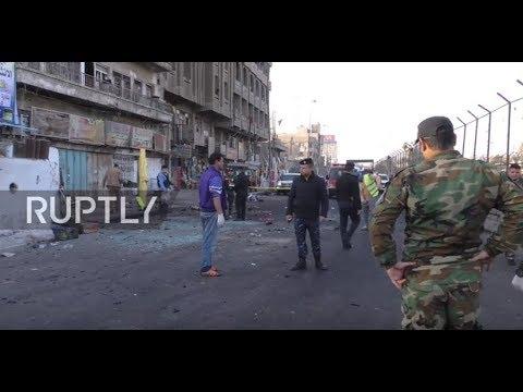 Xxx Mp4 Iraq Dozens Killed By Double Suicide Blast In Baghdad 3gp Sex