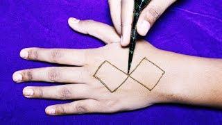World Most Amazing Stylish Easy Mehndi Designs { Henna Designs } - New Mehndi Designs For Hands
