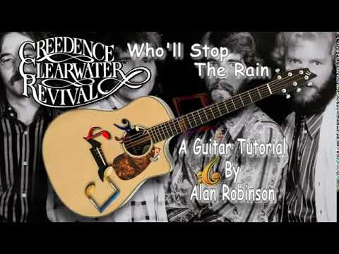 Who'll Stop The Rain - CCR - Acoustic Guitar Lesson