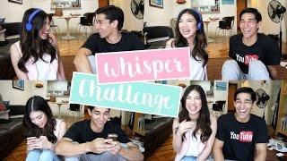 Whisper Challenge ft. Wil Dasovich (Tsong & Tsonggo) | Janina Vela