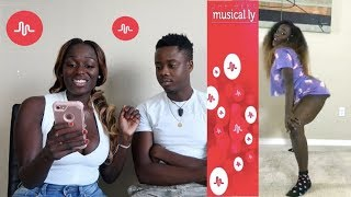 Reacting To Our Kid Subscribers Twerk Musical.ly Videos
