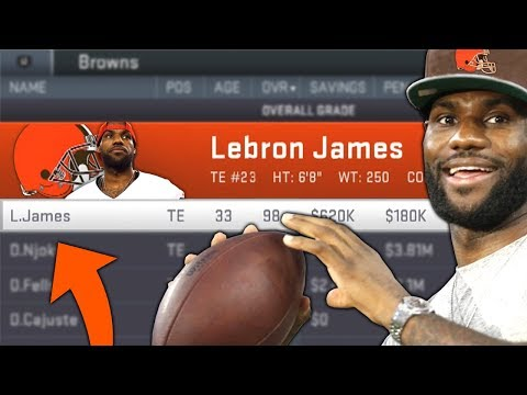 I PUT LEBRON JAMES ON THE CLEVELAND BROWNS AND THIS IS WHAT HAPPENED