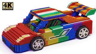 DIY - How To Make Lamborghini Gallardo From Magnetic Balls (Satisfying) | Magnet World Series