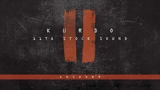 KURDO - 11 TA STOCK SOUND 2 ( SNIPPET )  PROD. BY ZINOBEATZ / KOSTAS KARAGIOZIDIS