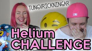 ♥ HELIUM CHALLENGE - Med tungvrickningar