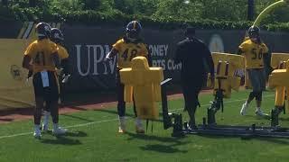 Steelers defense starts OTAs Week 2