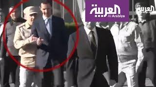 ضابط روسي يهين الأسد أمام بوتين