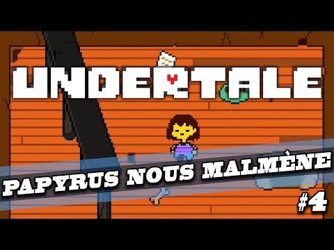 UNDERTALE : Papyrus nous malmène ! | LET'S PLAY FR #4