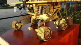 Life-size LEGO replica of NASA Mars Exploration Rover