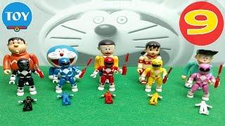Doremon siêu nhân tí hon tập 9 - Xuka bị bắt cóc Mon đầu Dê lộ diện - Hoạt hình Doraemon chế hài