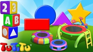 TuTiTu Preschool | Learning Shapes for Babies and Toddlers | Trampoline