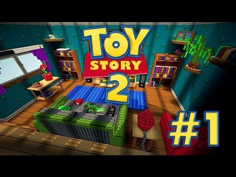 Toy Story MINECRAFT Mapa de Aventuras Con Mi Hermana Episodio 1