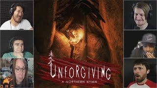 gamers reactions to burning a tree baby   unforgiving a northern hymn