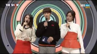 141028 The Show Season 4 MC (Jiyeon,Hyeri,Zhoumi) cut #7