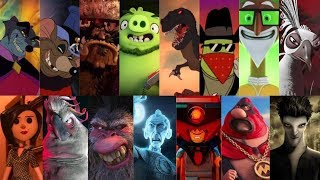 Defeat of my favorite animated non-Disney villains