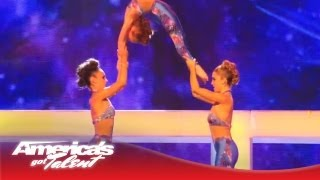 Innovative Force - High-Flying Acrobatic Dance - America's Got Talent Semi-Finals 2013