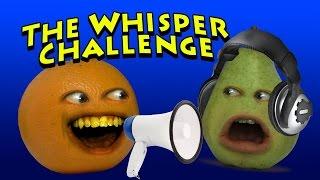 Annoying Orange - The Whisper Challenge (w/ Pear)