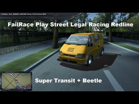FailRace Play Street Legal Racing Redline Super Transit Beetle