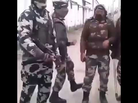 Indian Army dance on Kashmiri Music & songs