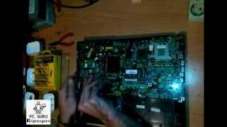 Αποσυναρμολόγηση laptop Acer Travelmate 2700 lw80