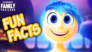Disney Pixar FUN FACTS | Inside Out