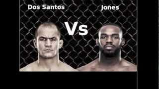 Junior Dos Santos Vs Jon Bones Jones - Free Fight