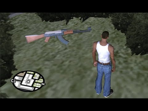 Xxx Mp4 How To Get All The AK 47 Assault Rifles At The Very Beginning Of The Game GTA San Andreas 3gp Sex