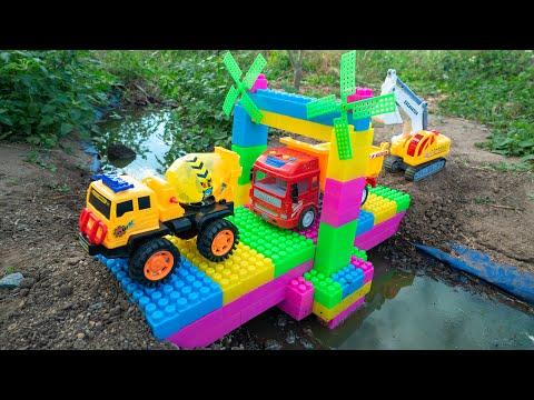 Construction Trucks shape for Kids Water Tank Trucks for Chidlren