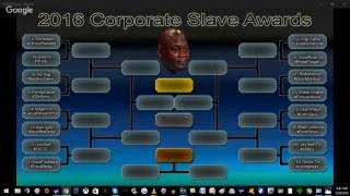 The 2016 Corporate Slave Awards - Round 1 #CSA2016