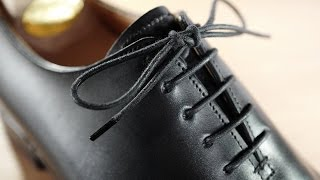 How To Lace & Tie Dress Shoes