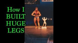 How I Built Competition WINNING LEGS