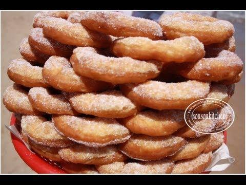 Beignets Marocains de la plage البينيي sfenj Donuts
