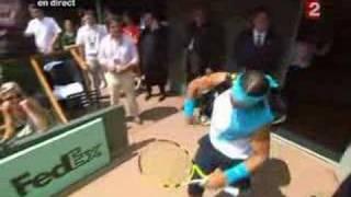 Rafa Nadal:the best!