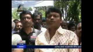 Comilla Maasranga TV News Roads Sromik 27   5   2014 Jahangir Alam Imrul