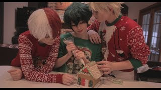 BNHA Christmas (My Hero Academia Cosplay skit)