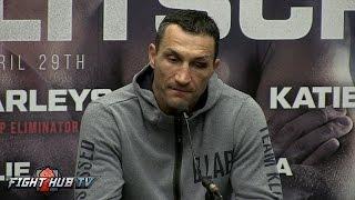 JOSHUA VS. KLITSCHKO- THE FULL WLADIMIR KLITSCHKO POST FIGHT PRESS CONFERENCE VIDEO