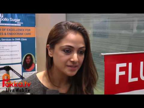 Actress Simran Creates Awareness on Physcial Fitness at Apollo Sugar Clinics