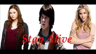 🔫Stay Alive - Carl Grimes Love Story ( QuotevTrailer) 🔫
